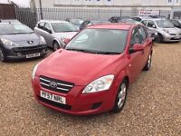 KIA Cee'D 1.6 CRDi GS Hatchback 5dr, SERVICE HISTORY. HPI CLEAR. LONG MOT. P/X WELCOME