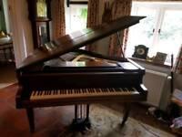 Baby Grand Piano Stahl