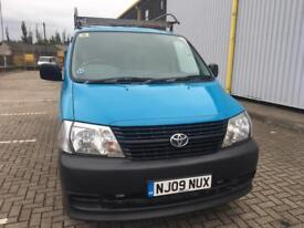 TOYOTA HIACE LWB 1 owner from new