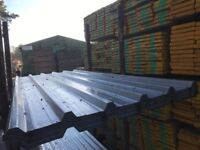 "42"" Wide Box Profile Galvanised Roof Sheet/Cladding"