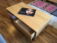 URGENT Coffee Table - large substantial item with drawers and storage, John Lewis