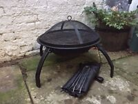 Portable Charcoal BBQ - Round Barbeque