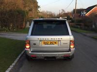 2004 RANGE ROVER VOGUE 3.0 TD6 HSE FACELIFT FULLY LOADED OVERFINCH BODY KIT 22'ALLOYS FSH HPI CLEAR