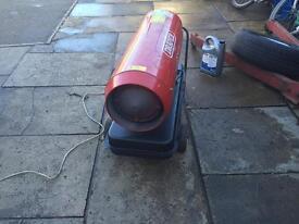Diesel space heater
