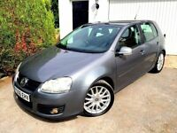 **LOW MILES** 2006 VOLKSWAGEN GOLF GT TDI 170 BHP GREY 5 DOOR 2.0 DIESEL MANUAL