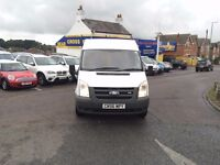 2007 FORD TRANSIT 110 T300M FWD WHITE