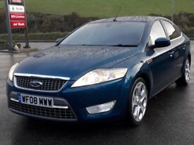 FORD MONDEO 1.8 TDCI TITANIUM X, DIESEL, 6 SPEED, 2008, 78'000 MILES, FSH, GREAT SPEC, NEW MOT, VGC