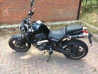 Yamaha MT 03 as new, sporty and cool sound
