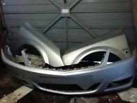 Vectra c bumper n wings star silver