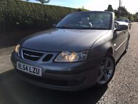 2004 Saab 9-3 2.0t Vector Convertible, MOT May 2017