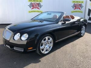 2008 Bentley Continental GT Navigation, Leather, AWD, Convertibl
