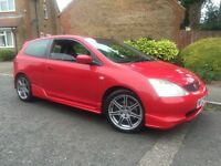 2002 HONDA CIVIC 2.0 TYPE R MONZA RED MANUAL MAY PX