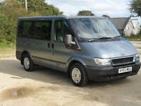 ford transit tourneo minibus 2003 / people carrier 9 seats / camper van