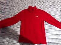 Northface 1/4 zippy pullover jumper SMALL mens