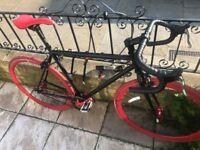 Single speed no logo bicycle