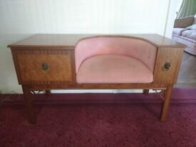 Chippy vintage telephone table