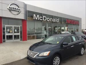 2014 Nissan Sentra S One Owner Low Kms