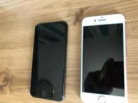2 x iPhone 7 32GB - swap for iPhone X