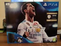 Ps4 slim 1tb with fifa 18 bundle - Brand new boxed
