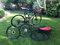 GT Grade Carbon Bike 56cm inc. extra carbon wheelset and extras