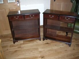 Pair of matching bookcase