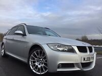 2008 BMW 320D M SPORT TOURNING, FULL BMW HISTORY+ 1 OWNER CAR