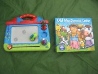 My First Scribbler and Old MacDonalds Lotto Game - £5.00 each or 2 for £7.00