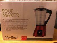 VonShef Soup Maker- brand new