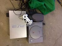 Ps2 and playstation... playstation sold.