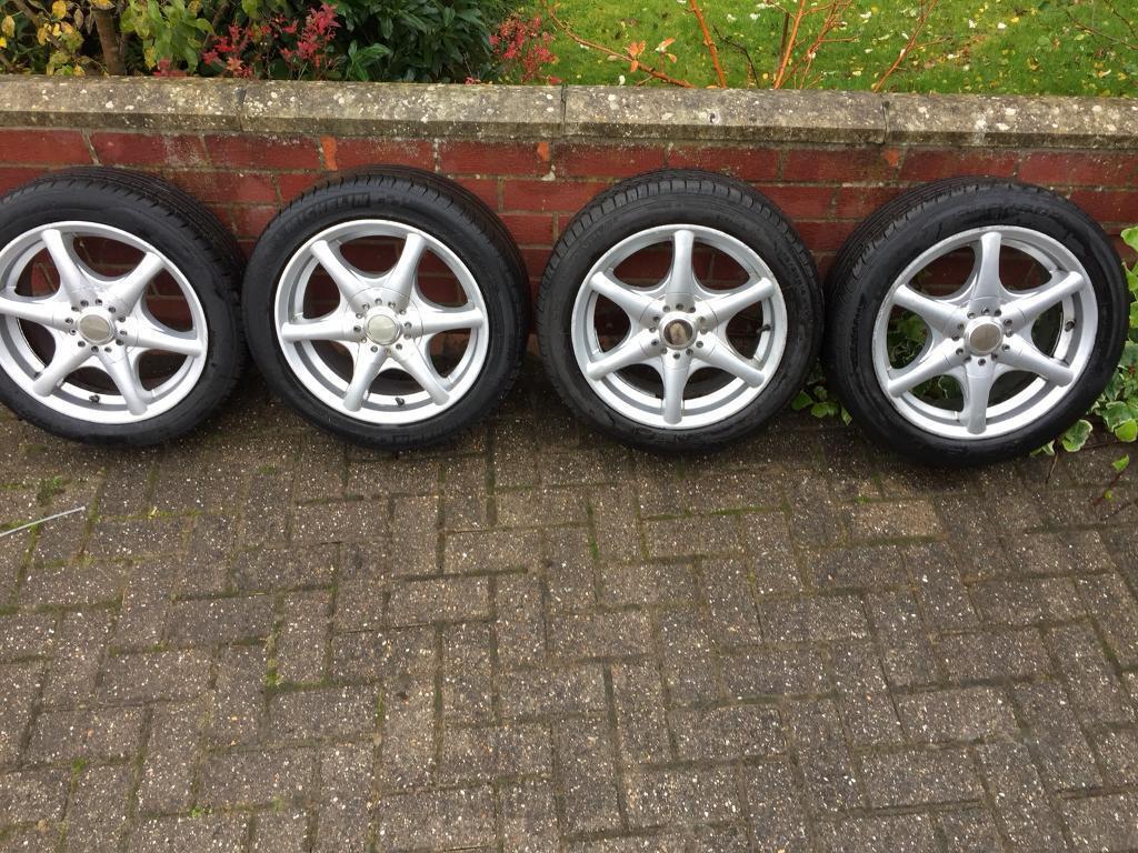 Alloy wheels set of 4