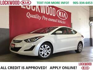 2016 Hyundai Elantra GL- BLUETOOTH, HEATED SEATS!!!