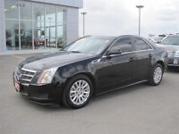 2011 Cadillac CTS 3.0L AWD HEATED & COOLED BLACK LEATHER