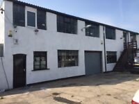 large 2 story building with big yard to let ideal for car storage ect community centre taxi