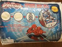 BNWT Disney Ultimate Spider-Man junior bed set