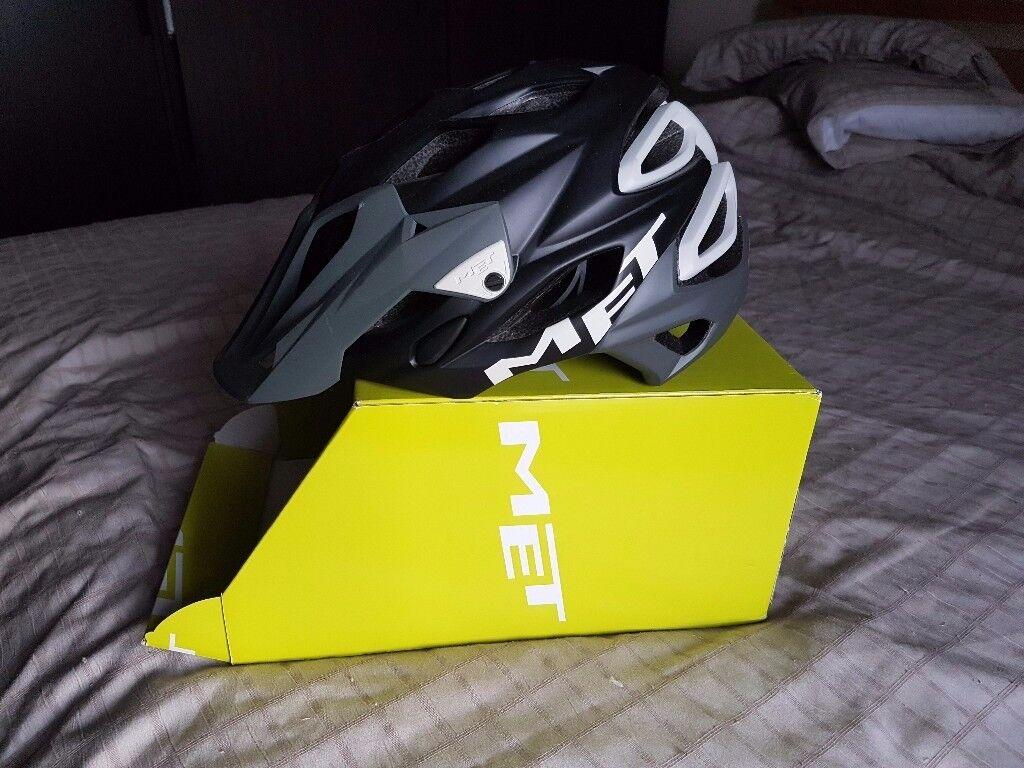 Met Parabellum MTB Helm MTB All Mountain-Helm(Größe L (59-62Cm)