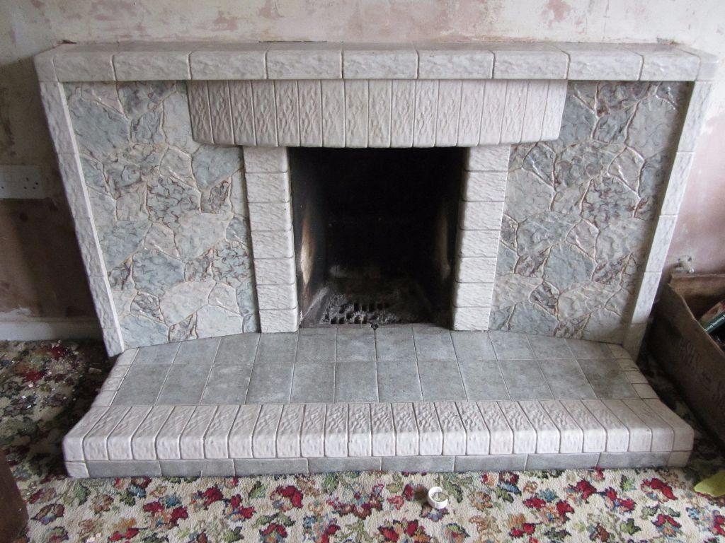 60s70s Retro tiled fireplace in Exmouth Devon Gumtree