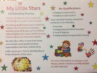My little stars childminding practise