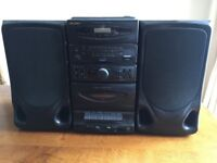 Bush CD Micro Stereo System (with cassette/tape player)