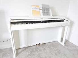 Boxed Digital Piano Roland HP-504 in limited White edition