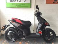 Aprilia SR 125 MOTARD (2015) Black Automatic 6295 miles Delivery available, scooter Moped