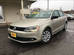 2013 Volkswagen Jetta 2.0L Trendline+ GREAT DARK INTERIOR