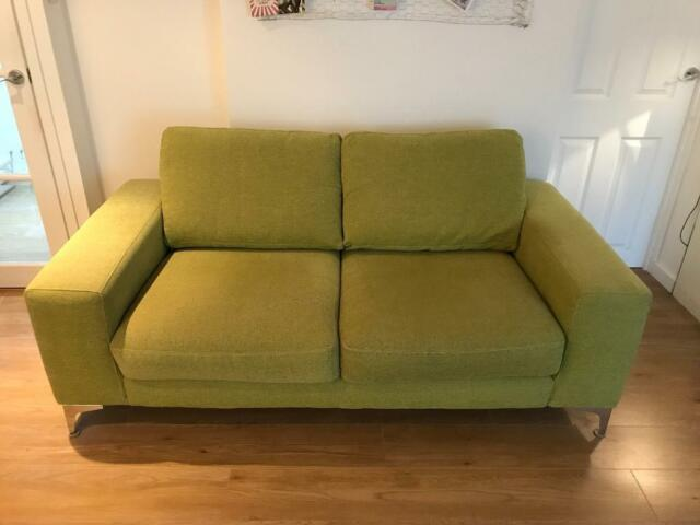 Fantastic Furniture Village Double Lime Green Sofa In Brighton East Sussex Gumtree Bralicious Painted Fabric Chair Ideas Braliciousco