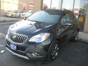 2014 Buick Encore AWD, POWER LEATHER/CLOTH, INTELLILINK, REMOTE