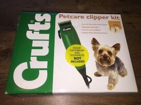 Crufts Pet Dog Clippers