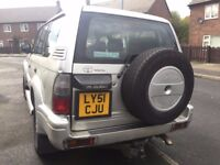 2001 TOYOTA LAND CRUISER 2982 cc DIESEL AUTOMATIC
