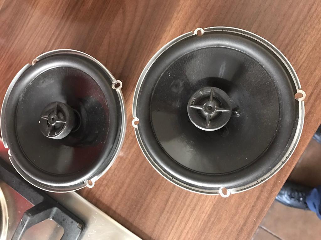JBL GTO 627 6.5 inch speakers