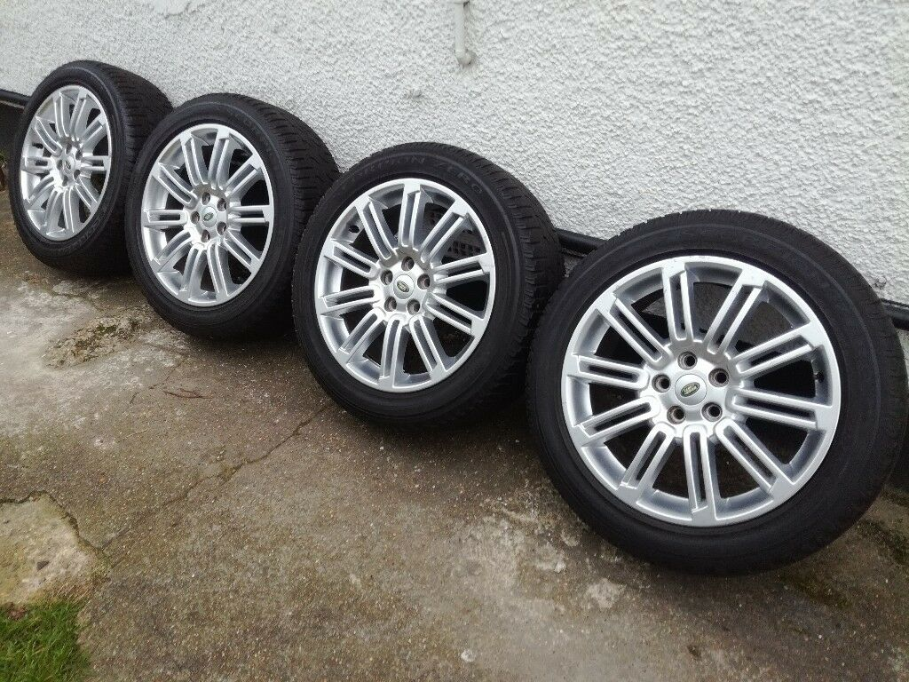 Land Rover Discovery 4 Genuine 20 Alloys With Tyres 255 50
