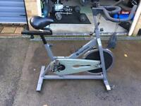 Roger black spin bike exercise bike
