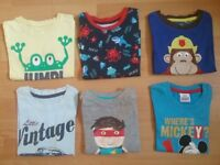 Bundle of Boy's Tshirts 2 -3 Years