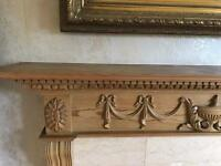 Solid pine fire surround €50.00 ono